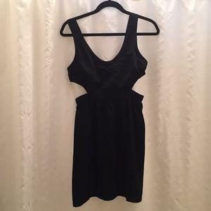 Ali & Kris cutout black dress M